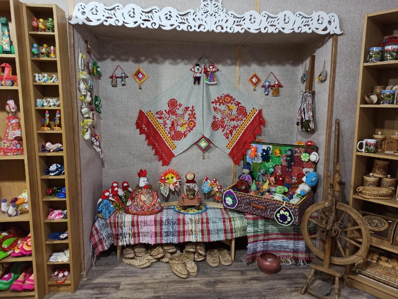 Гороховецкие сувенирные лавки