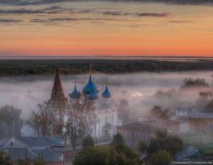 Утренний Гороховец. Фото Андрея Корочкина