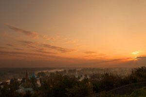 Утренний Гороховец. Фото Василия Кучеренко