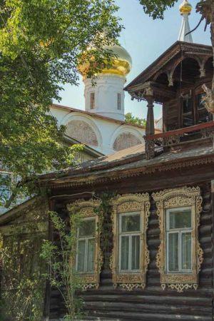 Гороховец. Деревянное зодчество. Фото Марии Майстровой